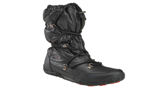 The North Face Women's Ice Queen, shiny black/tnf red